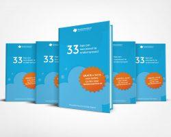 ebook met 33 tips succesvol ondernemen