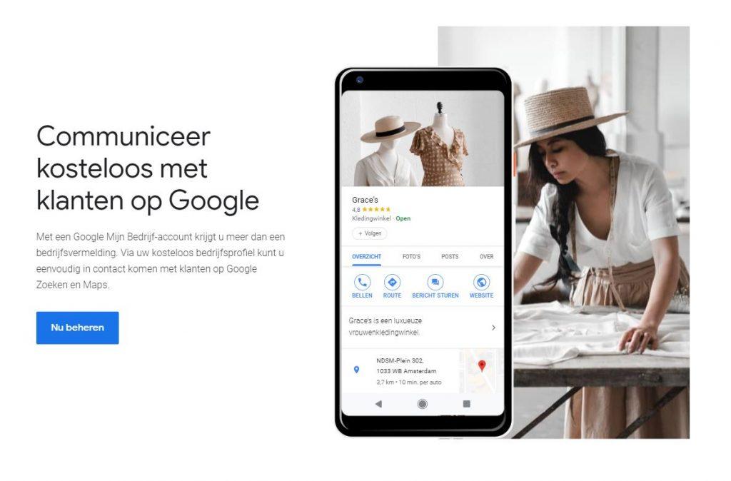 Lokale Online Vindbaarheid - Google Mijn Bedrijf